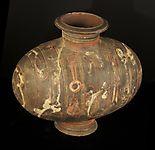 Han dynasty cocoon vase
